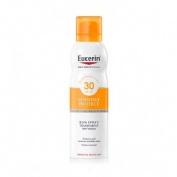 Eucerin sun protection 30 spray transparente - dry touch sensitive protect (1 envase 200 ml)