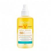 Capital soleil agua proteccion solar hidratante spf50 (1 envase 200 ml)