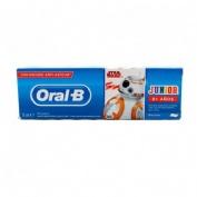 Oral-b star wars pasta dental infantil + 6 años (1 envase 75 ml)