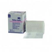 Venda elastica cohesiva - peha-haft latex free (1 unidad 4 m x 6 cm)