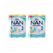 Nan optipro 3 (2 envases 800 g pack)