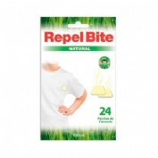 REPEL BITE NATURAL PARCHES ROPA C/ CITRONELLA (24 APLICACIONES)