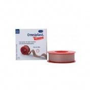 Esparadrapo hipoalergico - omniplast tejido resistente (1 unidad 5 m x 1,25 cm)