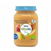 Nestle naturnes bio manzana platano pera y melocoton (1 envase 190 g)