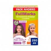 Fullmarks antipiojos y liendres champu + locion - pediculicida (1 envase 100 ml + 1 envase 150 ml ki