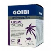 GOIBI ANTIMOSQUITOS XTREME TOALLITAS - REPELENTE (16 TOALLITAS)
