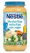 Nestle naturnes verduritas selectas y rape (2 tarrinas 200 g)