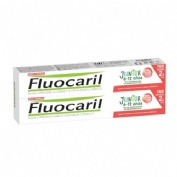 Fluocaril junior 6-12 años (2 envases 75 ml frutos rojos)