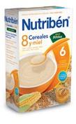 Papilla nutriben 8 cereales y miel digest (300 g)
