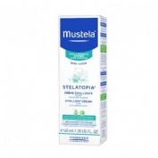 Stelatopia crema facial emoliente piel atopica - mustela (1 envase 40 ml)
