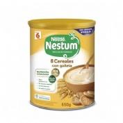Nestle nestum papilla 8 cereales con galleta (1 envase 650 g)